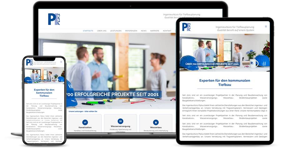 https://www.piplus.de | Experten für den kommunalen Tiefbau