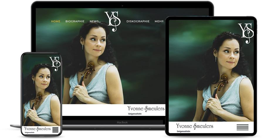 Yvonne Smeulers, Geigensolistin